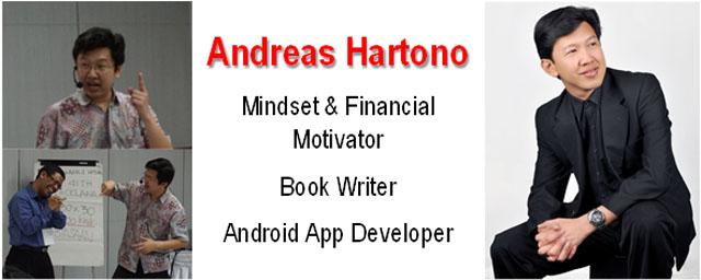 Profile Andreas Hartono